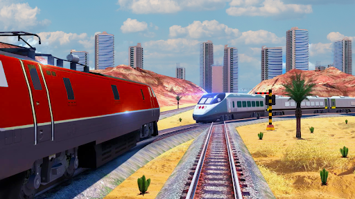 City Train Simulator 2021 New u2013 Offline Train Game 2 screenshots 3