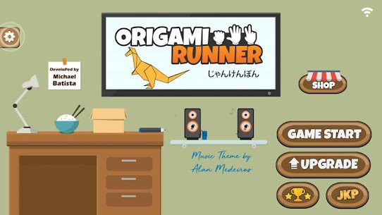 Origami Runner Online Hack Android & iOS 1
