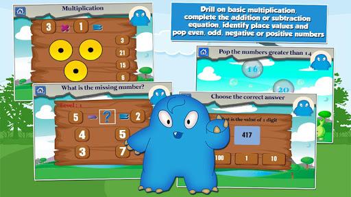 Monster Kid 2nd Grade Games 3.20 screenshots 2