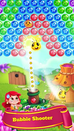 Bubble Shooter - Flower Games 4.9 screenshots 1