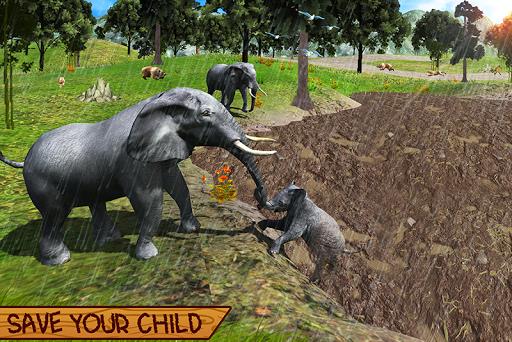 Wild Elephant Family Simulator apkpoly screenshots 6