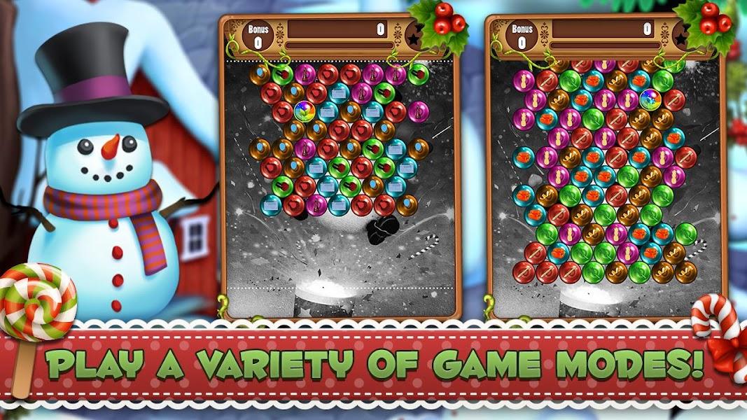 Christmas Bubble Shooter: Santa Xmas Rescue