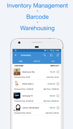 book keeper - accounting, gst invoicing, inventory screenshot 3