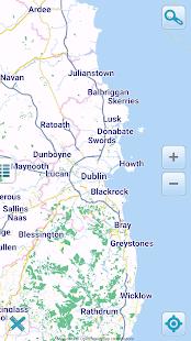 Map of Ireland offline