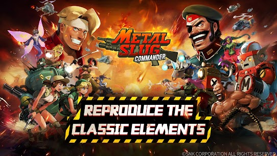Metal Slug : Commander MOD APK (Mod Menu/Damage Multiplier) 6