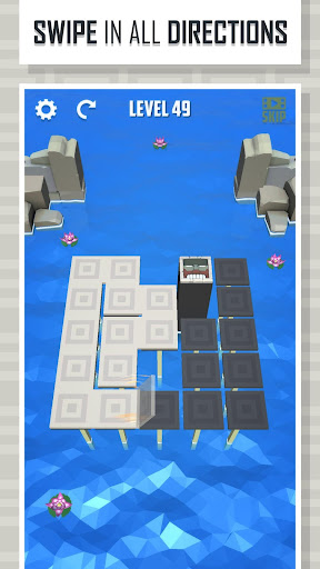 folding lines - puzzle game screenshot 2
