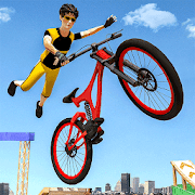 Extreme Stunts BMX Cycle Riding Simulator