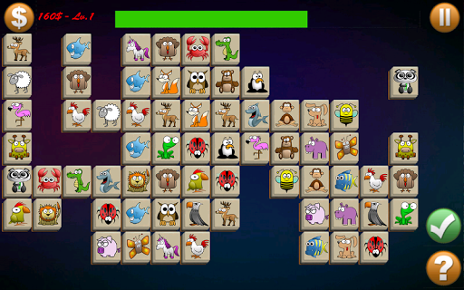 Tile Connect - Free Pair Matching Brain Game  screenshots 1