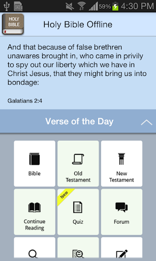Holy Bible Offline 3.6 Screenshots 11