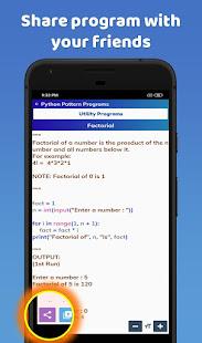 Python Pattern Programs Free