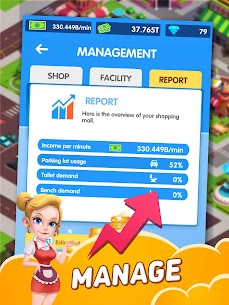 Idle Shopping Mall MOD APK (Unlimited Money) Download 9