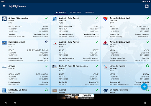 FlightAware Flight Tracker 5.6.6 Screenshots 8
