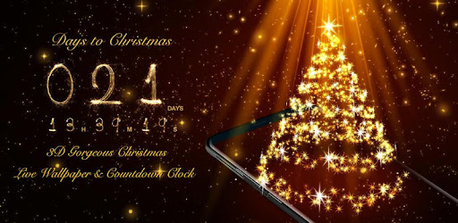 3d Christmas Live Wallpaper Countdown Widget Free Apps On Google Play