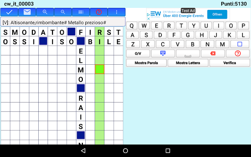 Best Italian Crossword Puzzles - Advanced Level 10.1 Screenshots 17
