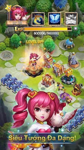 Castle Clash: Quyu1ebft Chiu1ebfn-Gamota screenshots 2