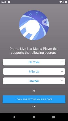 Drama Live IPTV   Watch your Live IPTV & Shows  screenshots 1