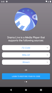 Drama Live IPTV   Watch your Live IPTV & Shows 9.0.0