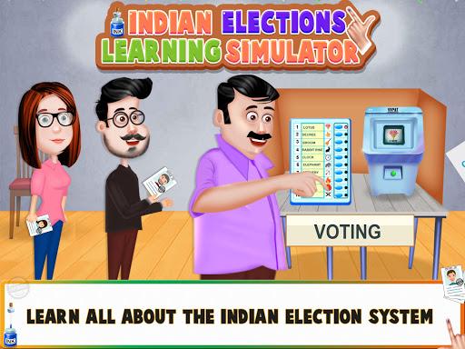 Indian Elections 2021 Learning Simulator  screenshots 1