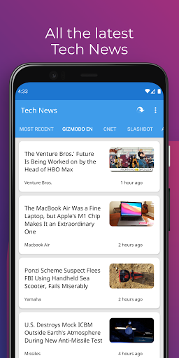 Tech News 1.9.3 Screenshots 3