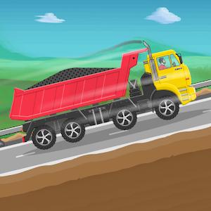 Truck Racing  Offroad hill climbing