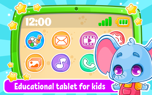 Babyphone & tablet - baby learning games, drawing 2.0.13 screenshots 1