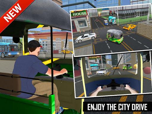 Tuk Tuk Auto Rickshaw Offroad Driving Games 2020 android2mod screenshots 22