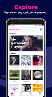 Audioburst: Personalized talk audio 0.9.37 screenshots 1