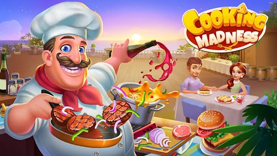 Cooking Madness Mod APK 1.8.1 Download (Unlimited Money) 1