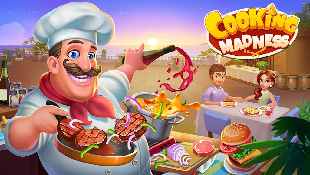 Cooking Madness - A Chef's Restaurant Games  poster 0