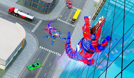 Crocodile Robot Car Transforming Mega Robot Games apkdebit screenshots 9