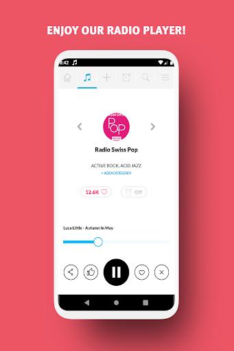 radio suisse - dab, webradio, free fm radio screenshot 2