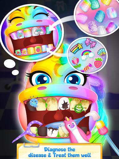 Unicorn Dentist - Rainbow Pony Beauty Salon 1.4 screenshots 4