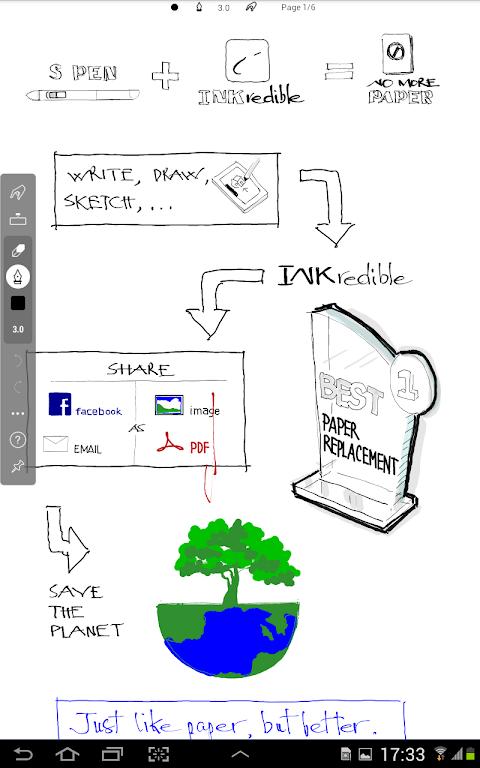 INKredible MOD APK 2.6.2 (Professional Unlocked) - Handwriting Be aware poster 13