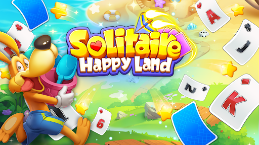Solitaire TriPeaks Happy Land - Free Card Game  screenshots 1