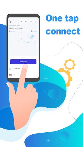 Galaxy VPN - Free VPN Unlimited time & traffic android2mod screenshots 1