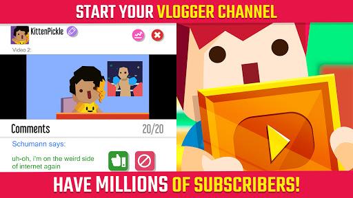 Vlogger Go Viral: Streamer Tuber Life Simulator Apkfinish screenshots 7