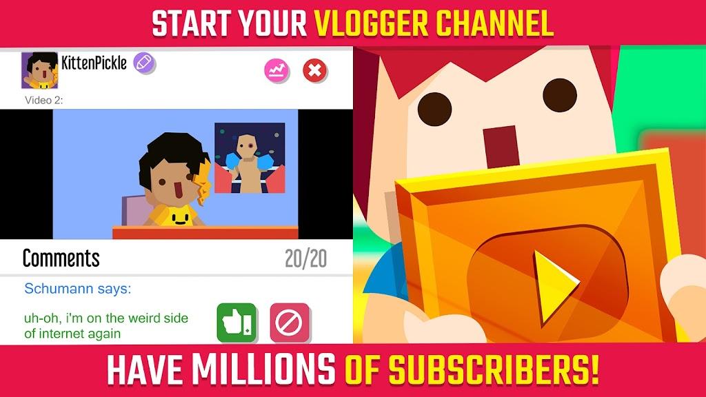 Vlogger Go Viral: Streamer Tuber Life Simulator poster 6