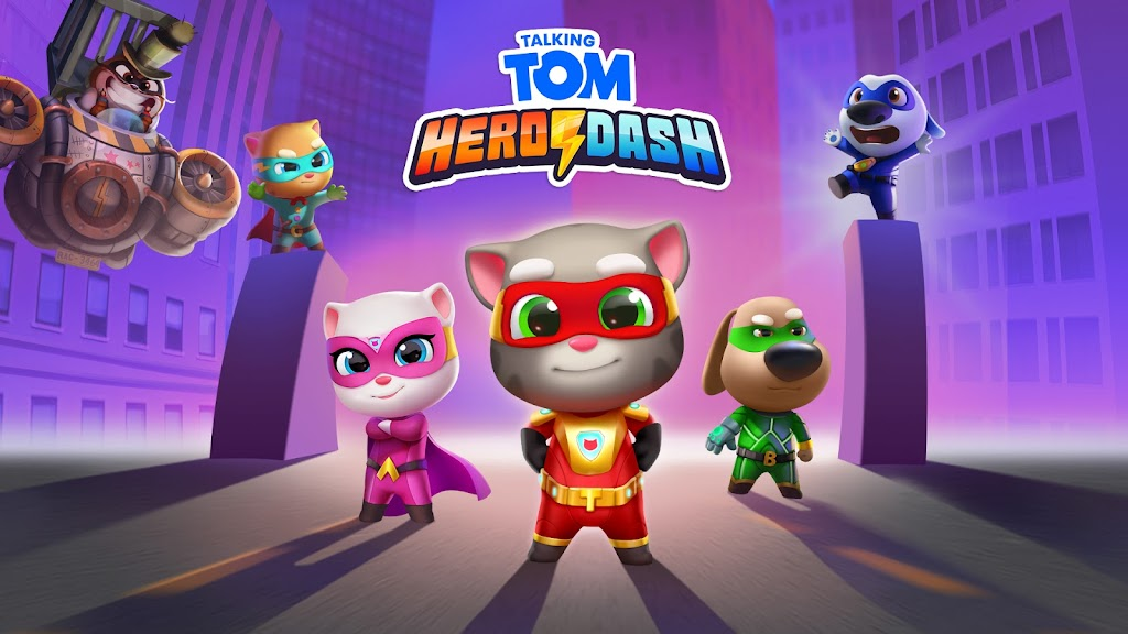 Talking Tom Hero Dash poster 7