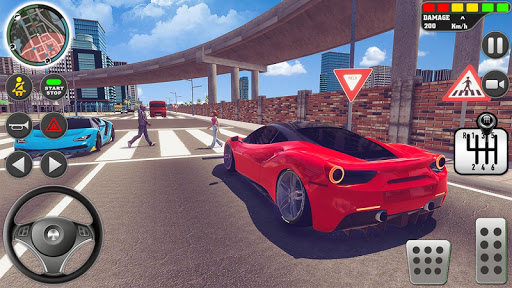 City Driving School Simulator: 3D Car Parking 2019 apkpoly screenshots 6