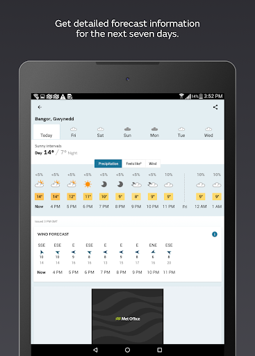 Met Office Weather Forecast 2.3.1 Screenshots 8