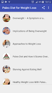 Free Download Paleo Diet for Weight App For PC (Windows and Mac) 1