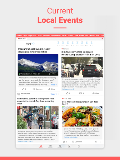 NewsBreak: Local News that Connects the Community android2mod screenshots 9