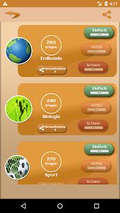 Quiz Wissenstest APK for Android 2