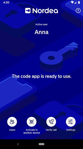 Nordea Codes  screenshots 1
