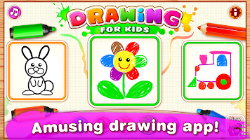 Bini Drawing for Kids! Learning Games for Toddlers