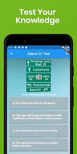 Free Ontario G1 Test 2021