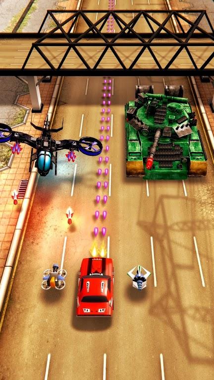 Chaos Road: Combat Racing poster 2