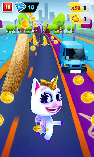 Unicorn Runner 2. Magical Running Adventure  screenshots 1
