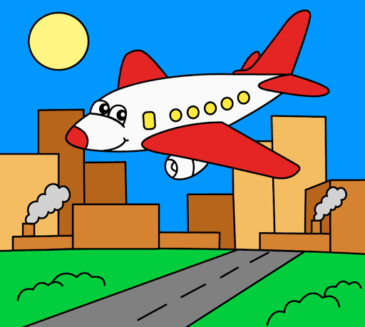 Coloring pages for children : transport 1.1.9 screenshots 2