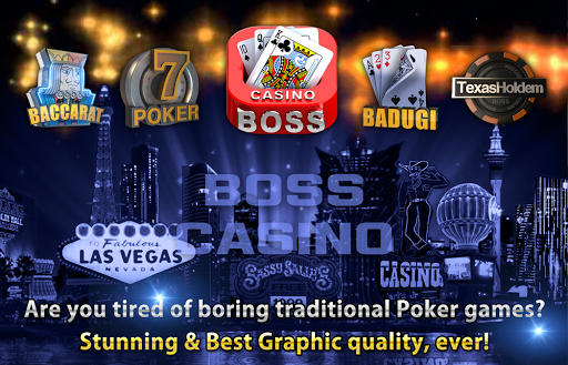 Boss Poker u2013 Texas Holdem Blackjack Baccarat  screenshots 9
